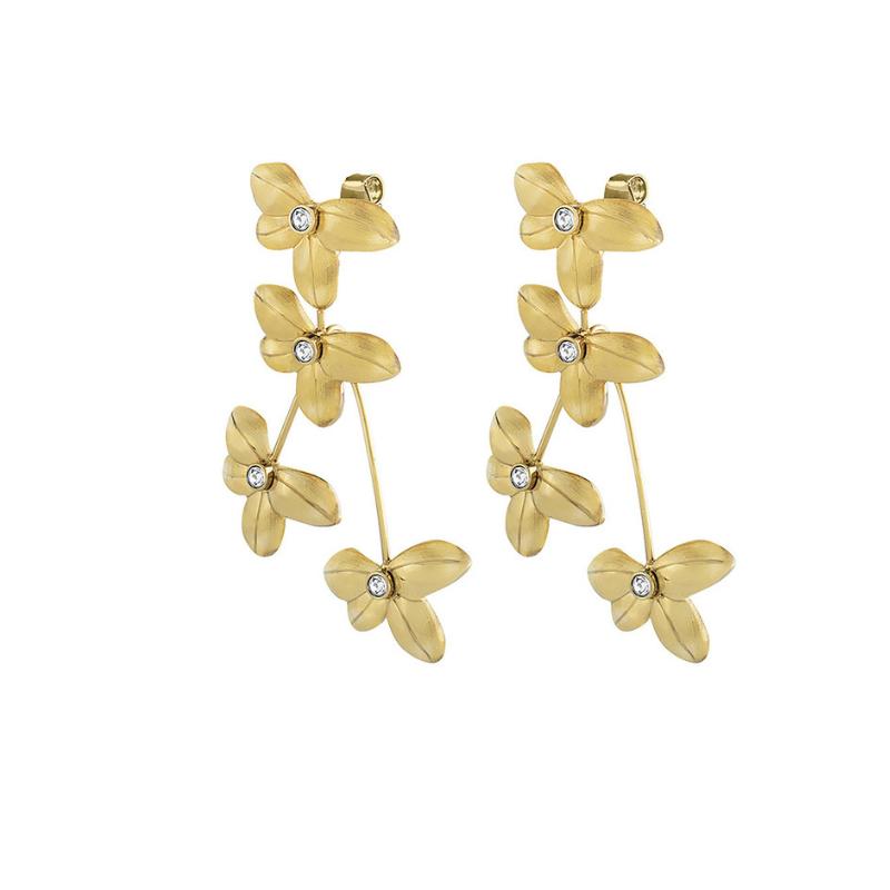 d025e757 Dyrberg/Kern earrings Yamato MG Crystal - Fabeles DYRBERG